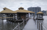 Ono Island Staining & Painting Boat House