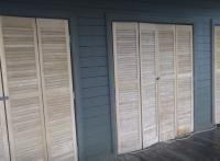 Sanding Boat House doors