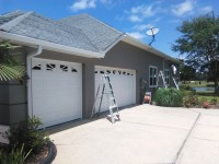 stucco and garage door painting