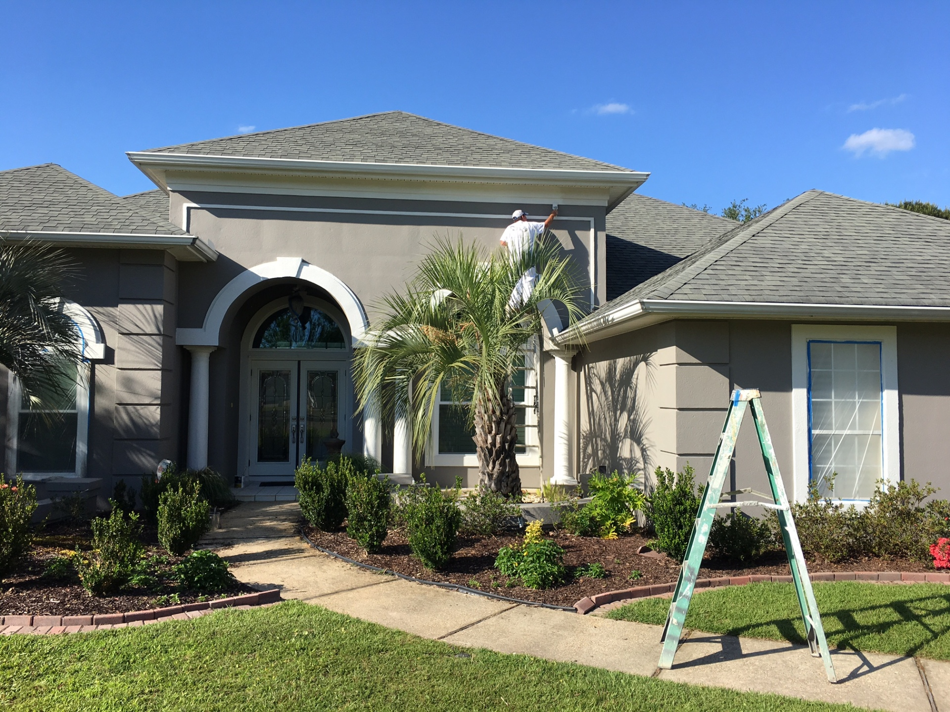 Stucco painting in Gulf Shores AL