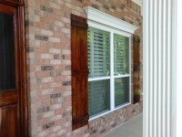 custom built Rustic shutters
