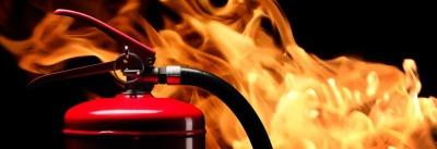 Using Powder Fire Extinguishers
