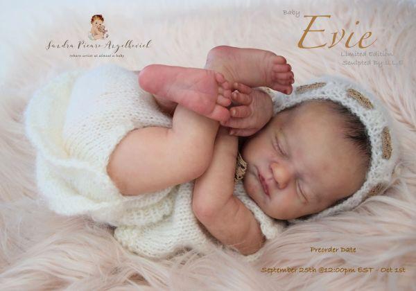 Baby Evie open Preorder Sept 25
