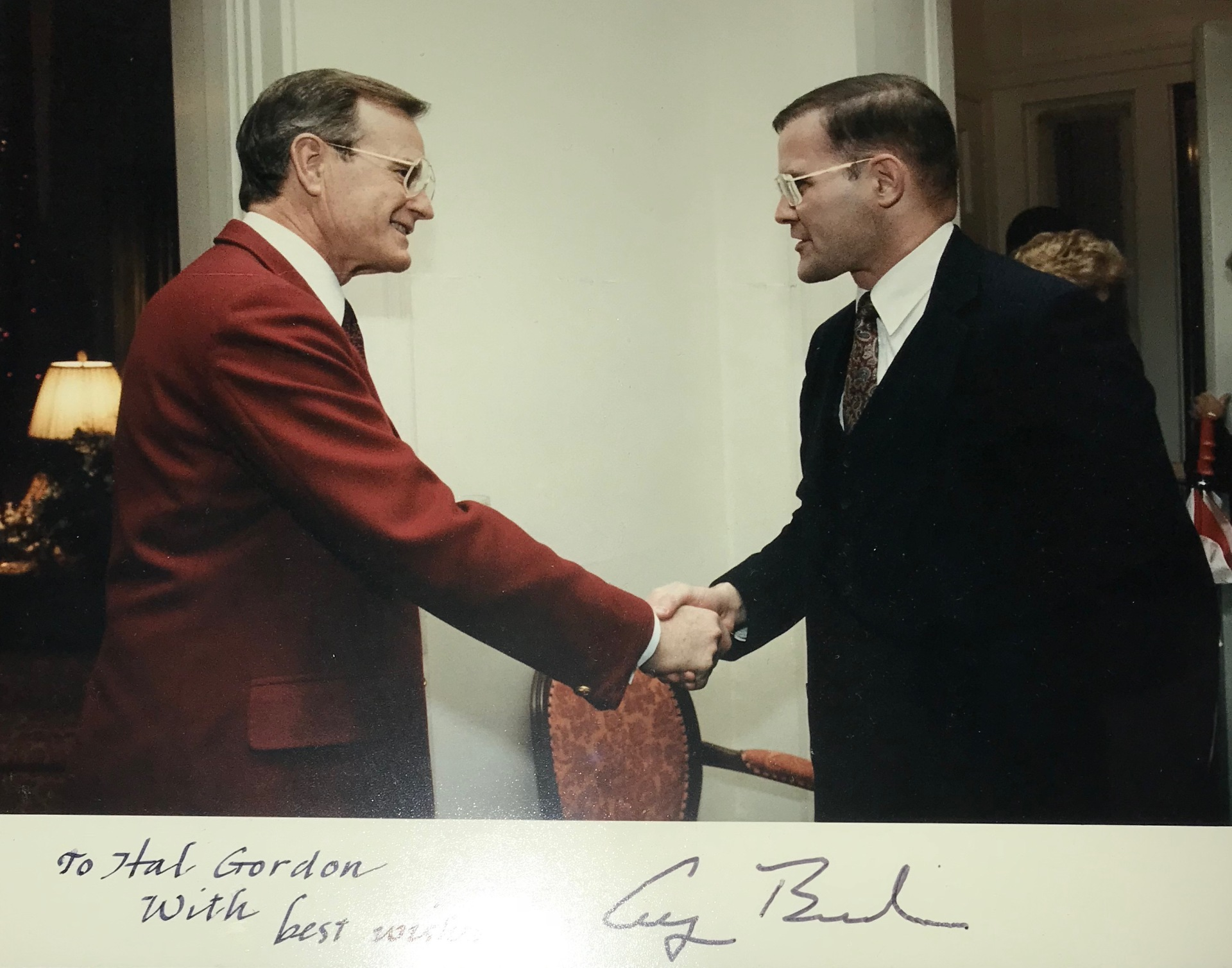 Remembering President Bush