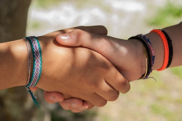 Building Relationships With a Simple Handshake