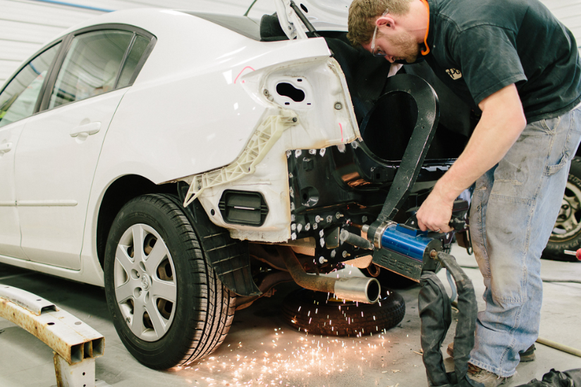 Why Should You Take Your Car To Body Repair Shops?
