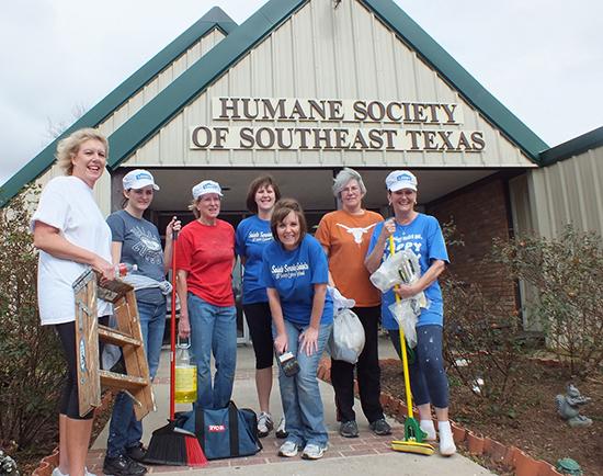 Humane Society of Southeast Texas - Orange County Team