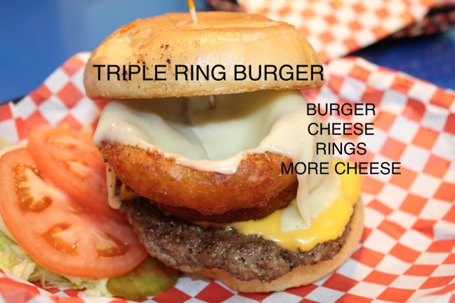 Triple Ring Burger
