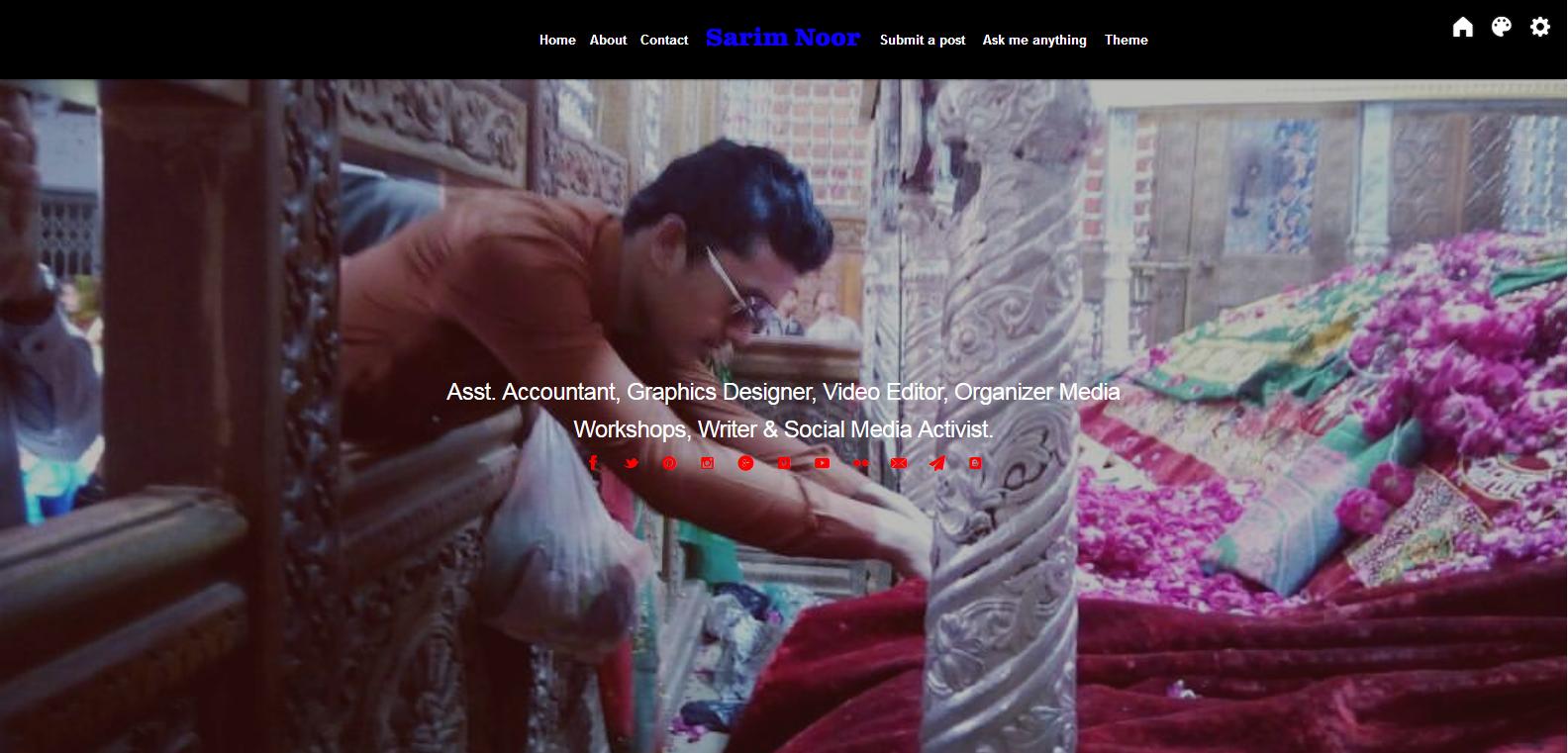 sarim noor website official
