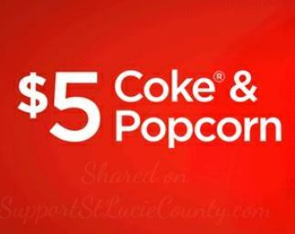 Cameo Coke and Popcorn at AMC theatres
