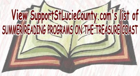 Summer Reading Programs for Kids Treasure Coast