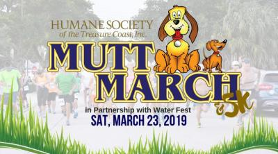 Mutt March in Partnership with WaterFest at Stuart Memorial Park