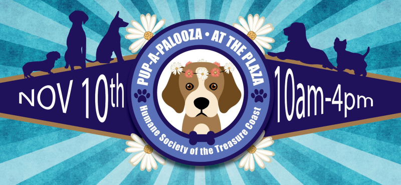NOVEMBER 10, 2018  1st Annual 'Pup-a-palooza at the Plaza' at Harbour Bay Plaza 10AM - 4PM. Event to