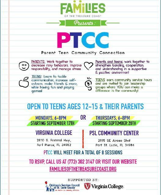 Free 8-week Parent Teen Community Connection Session