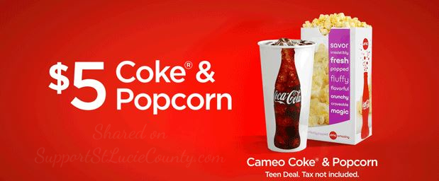 Teen Exclusive Deal: $5 Cameo Combo at AMC Theatres