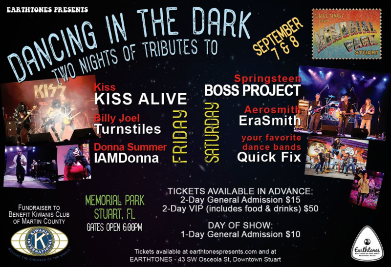 Dancing in the Dark at Stuart Memorial Park - A Night of Tributes