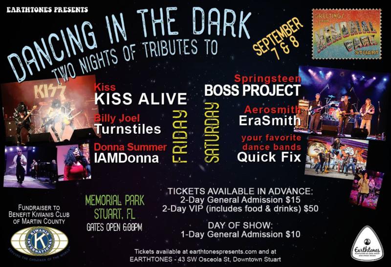 Dancing in the Dark at Stuart Memorial Park - A Night of Tributes