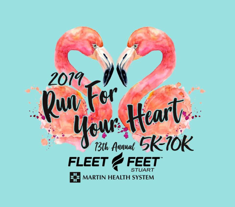 Annual Run for Your Heart 5k-10k at Fleet Feet Stuart