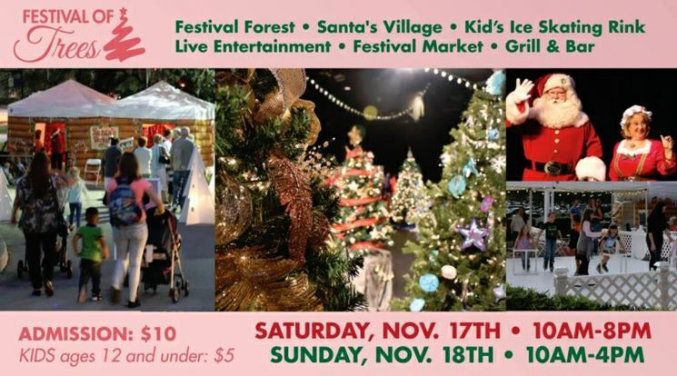 Annual Festival of Trees at the Riverside Theatre - Vero Beach