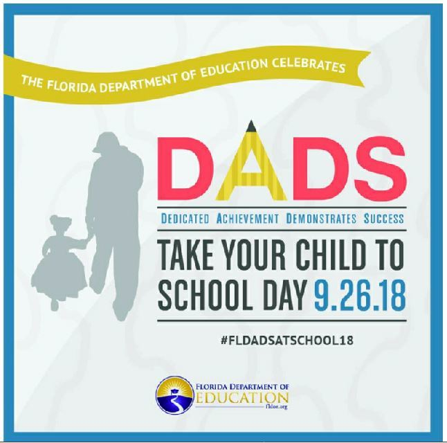 Dads Take Your Child To School Day - Treasure Coast