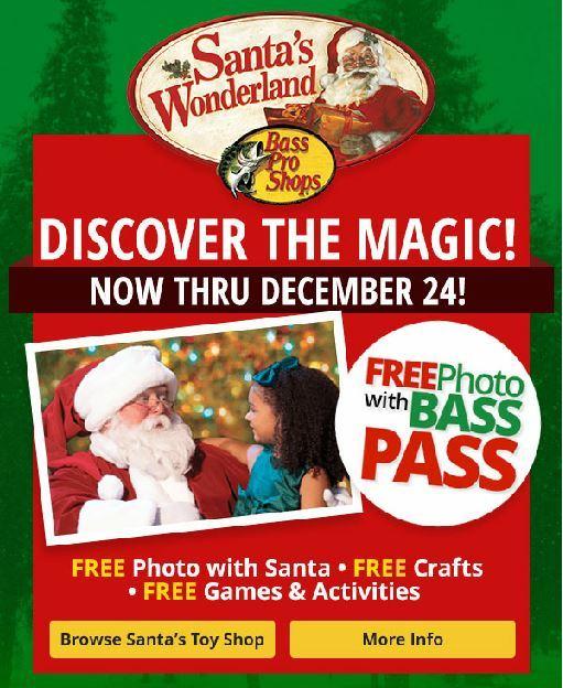 Santa's Wonderland at Bass Pro Shops - Port St Lucie