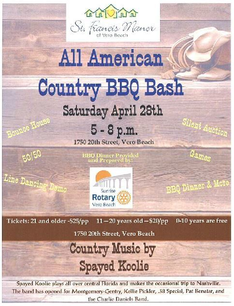 All American Country BBQ Bash at St Francis Manor Apts
