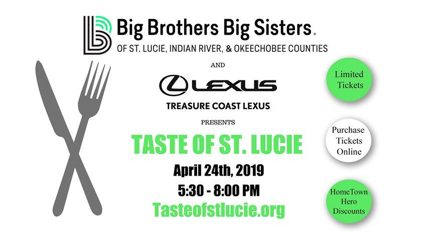 Big Brothers Big Sisters Taste of St. Lucie at Treasure Coast Lexus