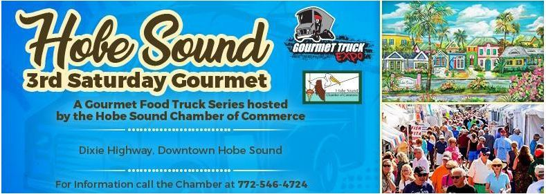 Hobe Sound Third Saturday Gourmet in Downtown Hobe Sound