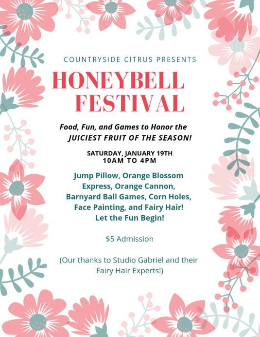 Honeybell Festival at Countryside Citrus in Vero Beach