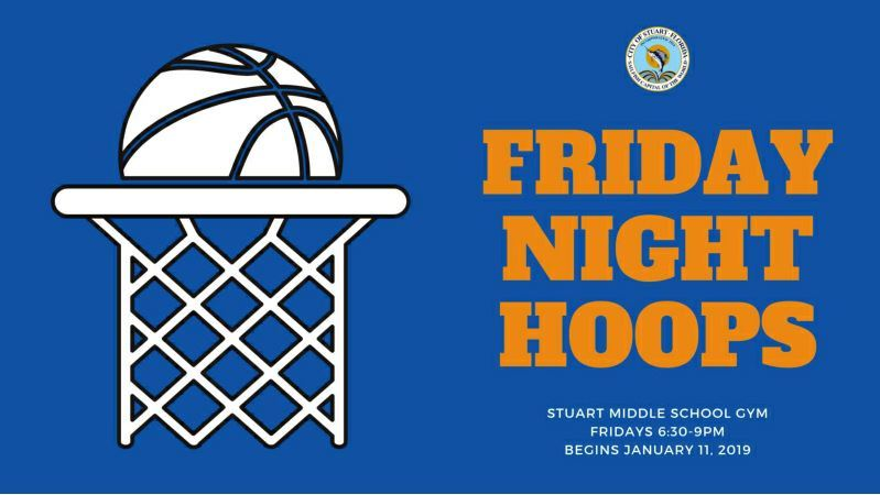 Friday Night Hoops at Stuart Middle School