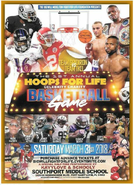 Hoops for Life Celebrity Charity Basketball Game