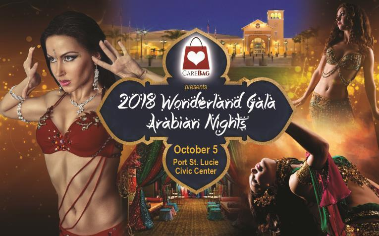 Arabian Nights Wonderland GALA at the Port St Lucie Civic Center