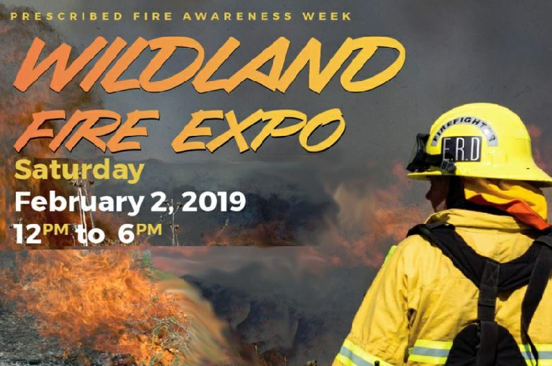 Wildland Fire Expo at George E. LeStrange Natural Area in Fort Pierce