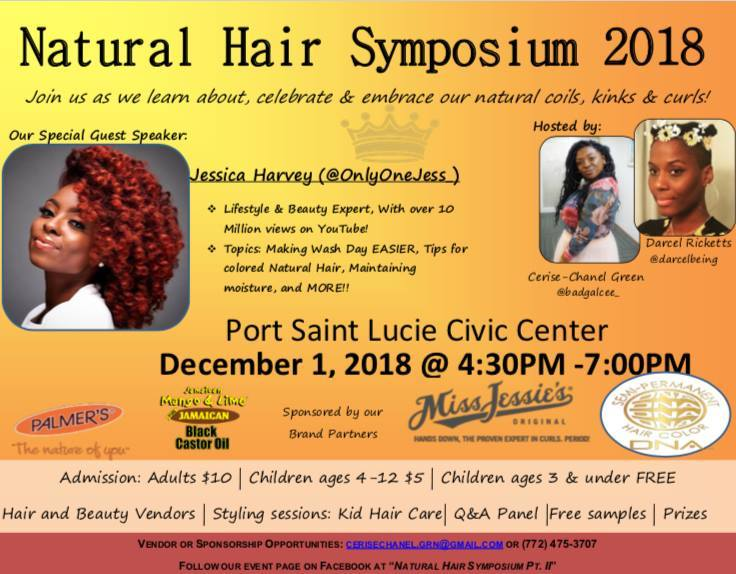 Natural Hair Symposium Part II at the Port St Lucie Civic Center