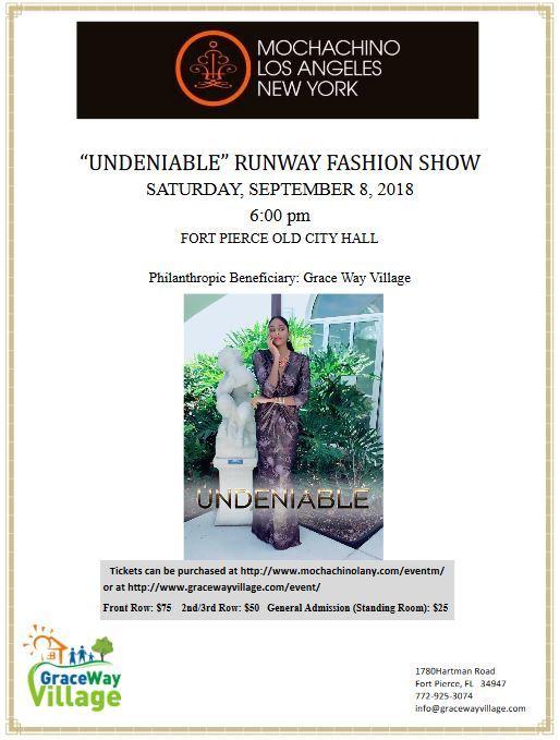 Fashion + Philanthropy = Fabulous. Mochachino: Los Angeles|New York Undeniable Fashion Show