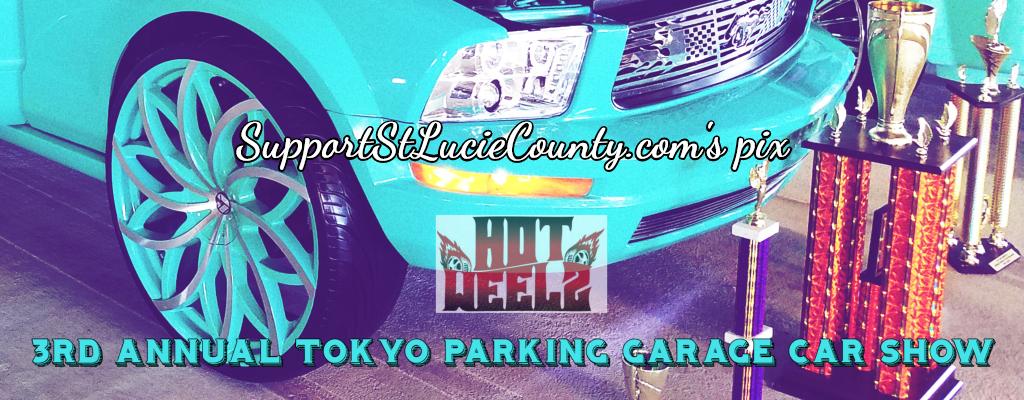Hot Weelz Annual Tokyo Parking Garage Car Show