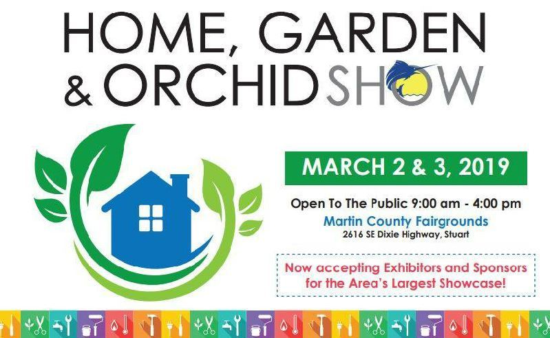 Home, Garden & Orchid Show at the Martin County Fairgrounds
