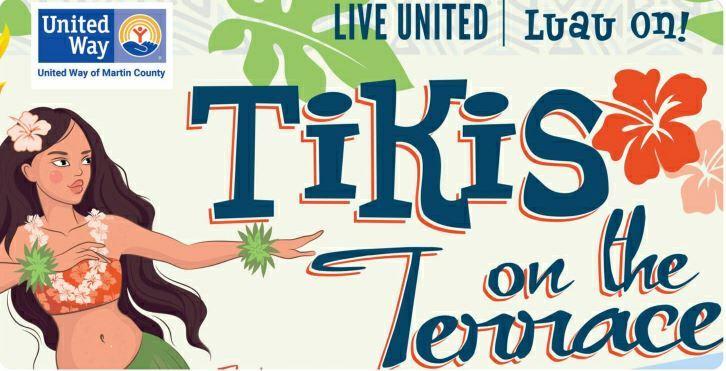 Tikis on the Terrace at Tuckahoe Mansion in Jensen Beach