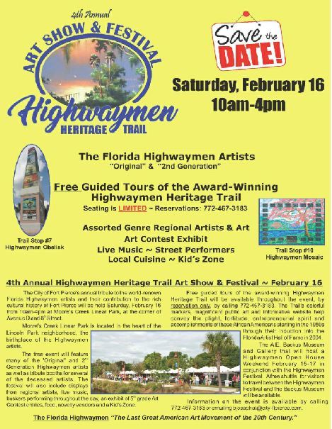 Highwaymen Heritage Trail Art Show and Festival at Moore's Creek