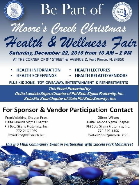 Christmas On Moore's Creek Health and Wellness Expo