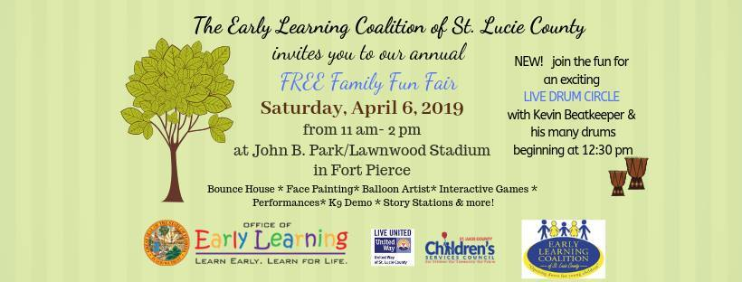 Early Learning Coalition's Family Fun Fair