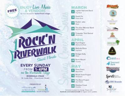 Rockin Riverwalk Music Series at Riverwalk Stage Stuart