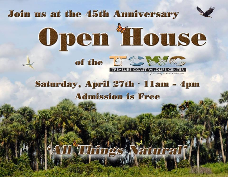 TCWC Open House & Green Market at Treasure Coast Wildlife Center