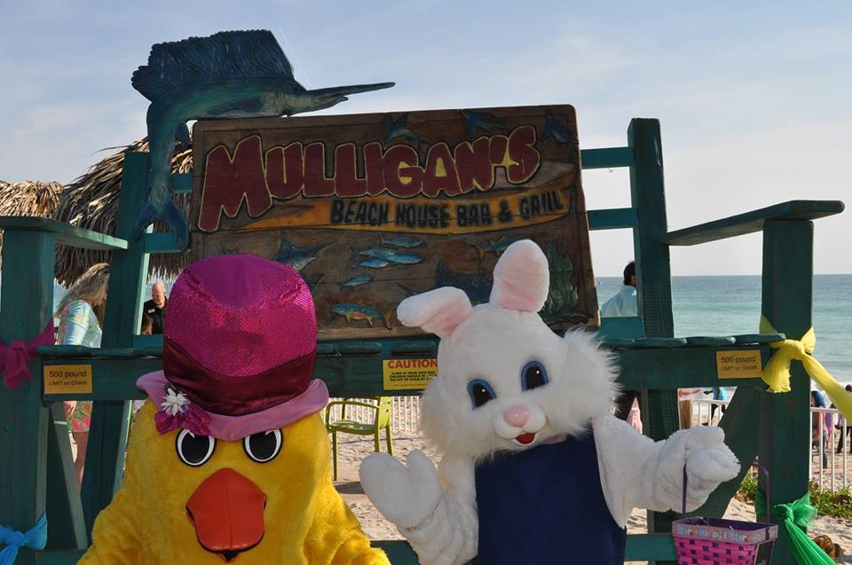 Annual Easter Egg Hunt at Mulligan's Vero Beach