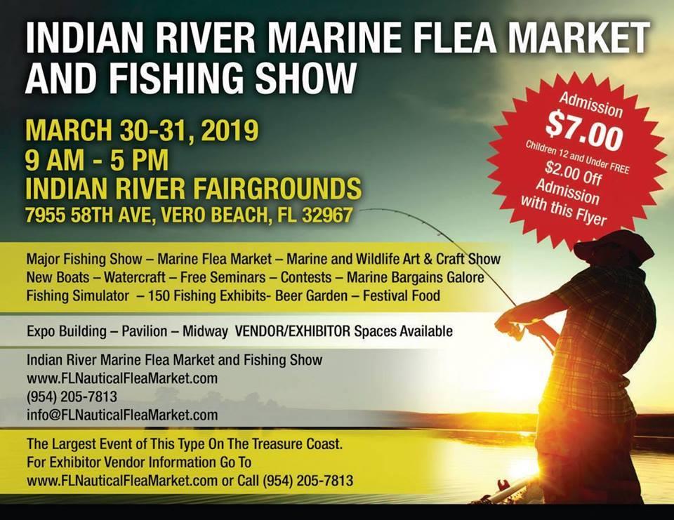 Treasure Coast Marine Flea Market and Boat Show at Indian River County Fairgrounds