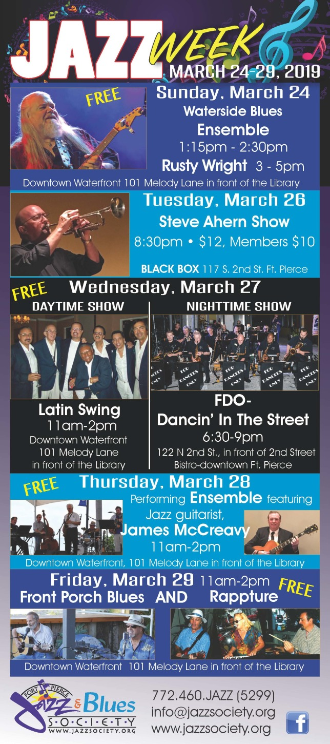 Jazz Week in Downtown Fort Pierce