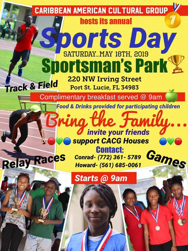 Caribbean American Cultural Group hosts Annual Sports Day