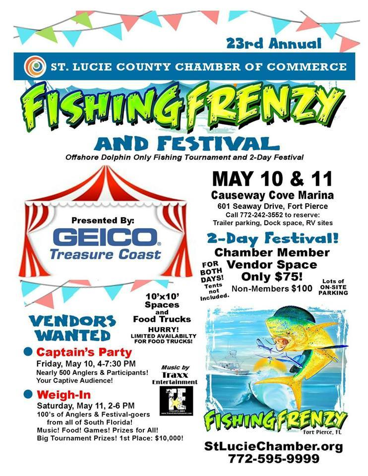 Fishing Frenzy Weigh-in at the Causeway Cove Marina