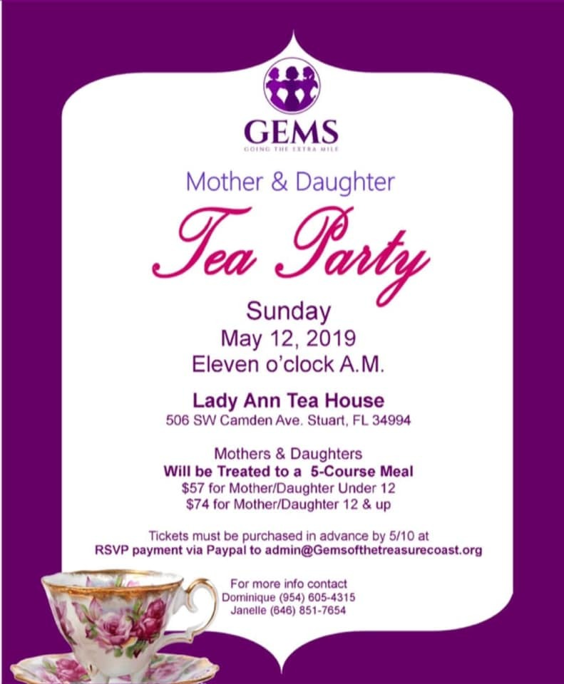 Mother & Daughter Tea Party at Lady Ann Tea House