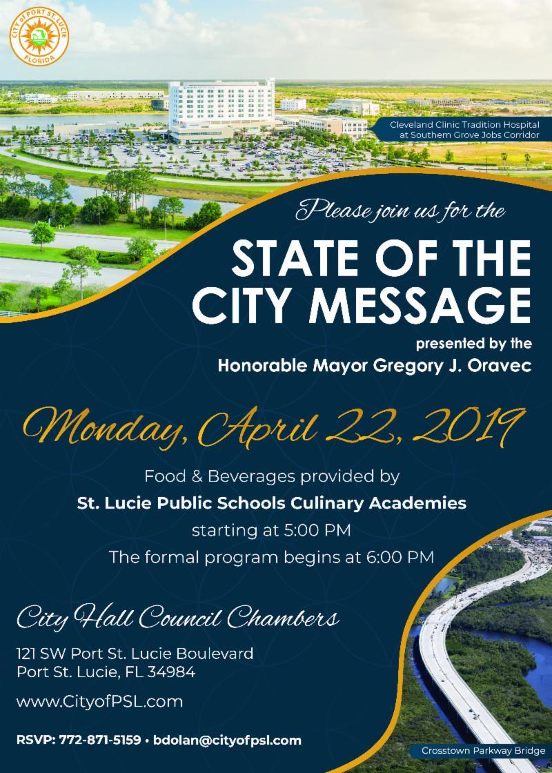 State of the City Message